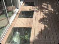 CA Deck glass floor