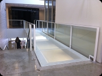 MCAD glass floor