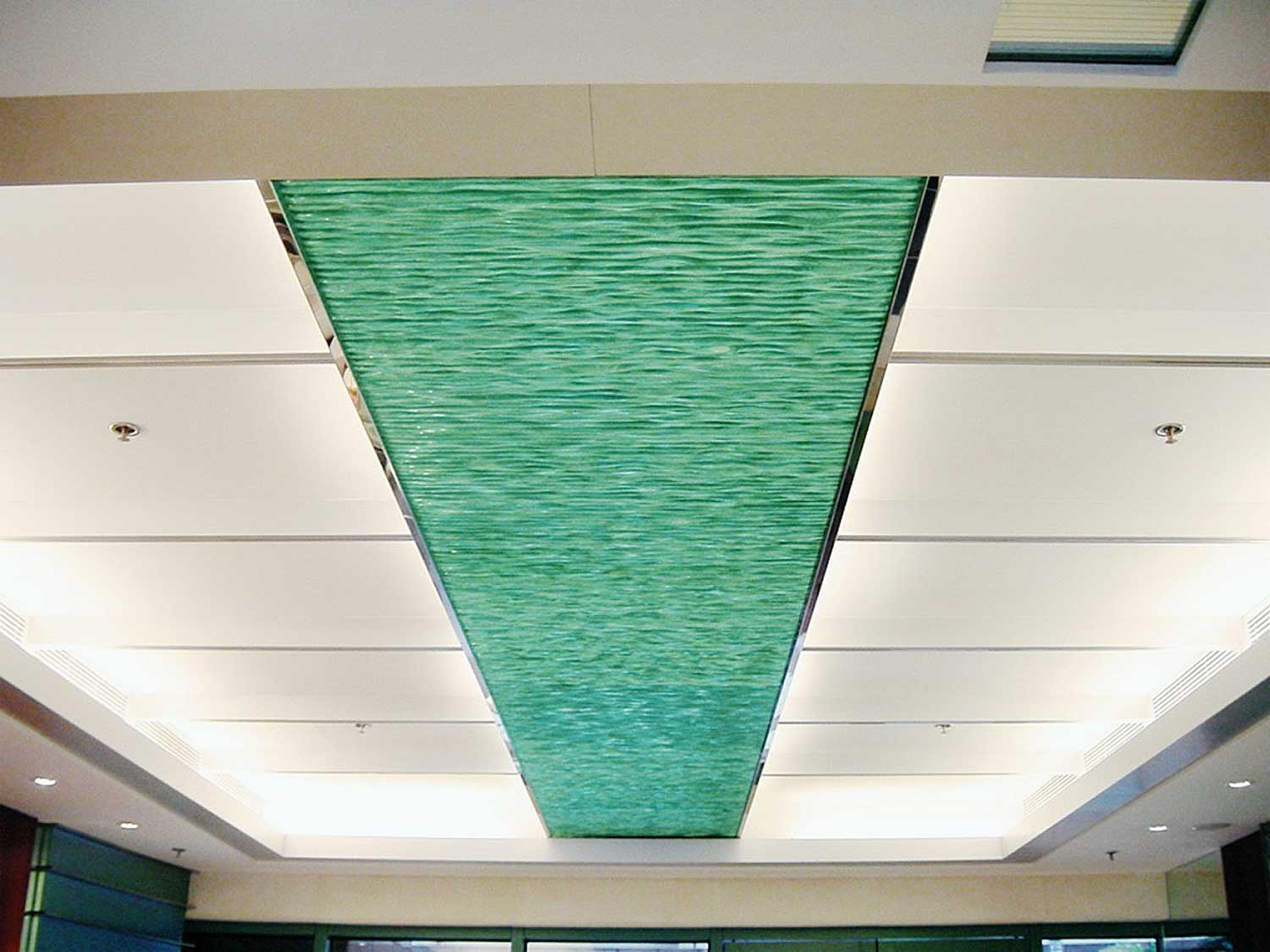 GlassStax ceiling