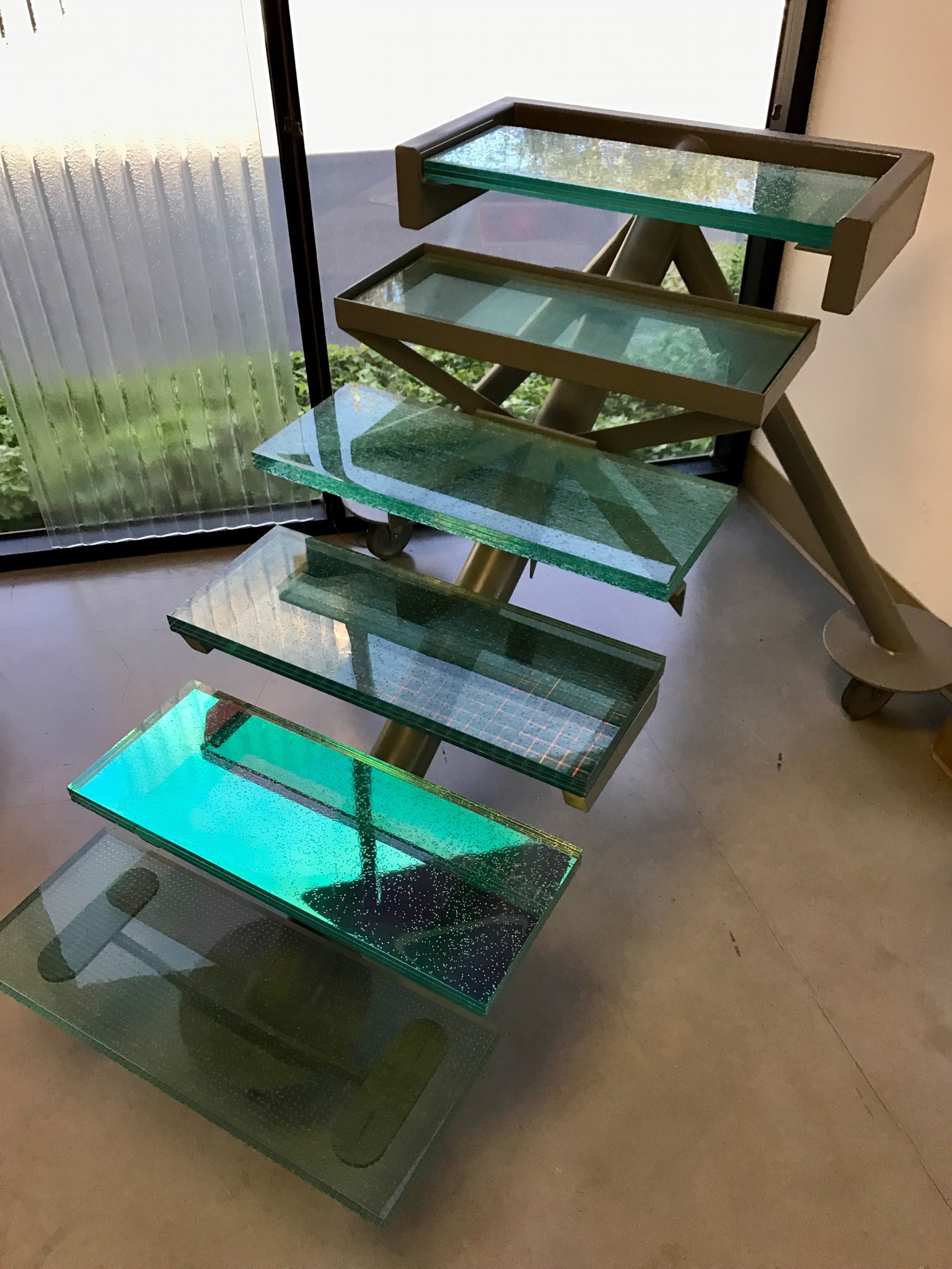 stairs display