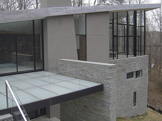 Residence Exterior Glass Floor