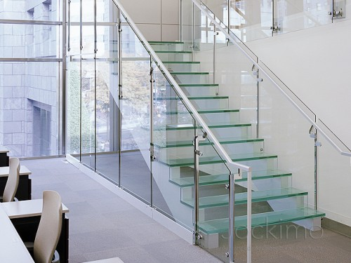 Bank of America - glass treads