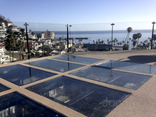 Catalina glass floor